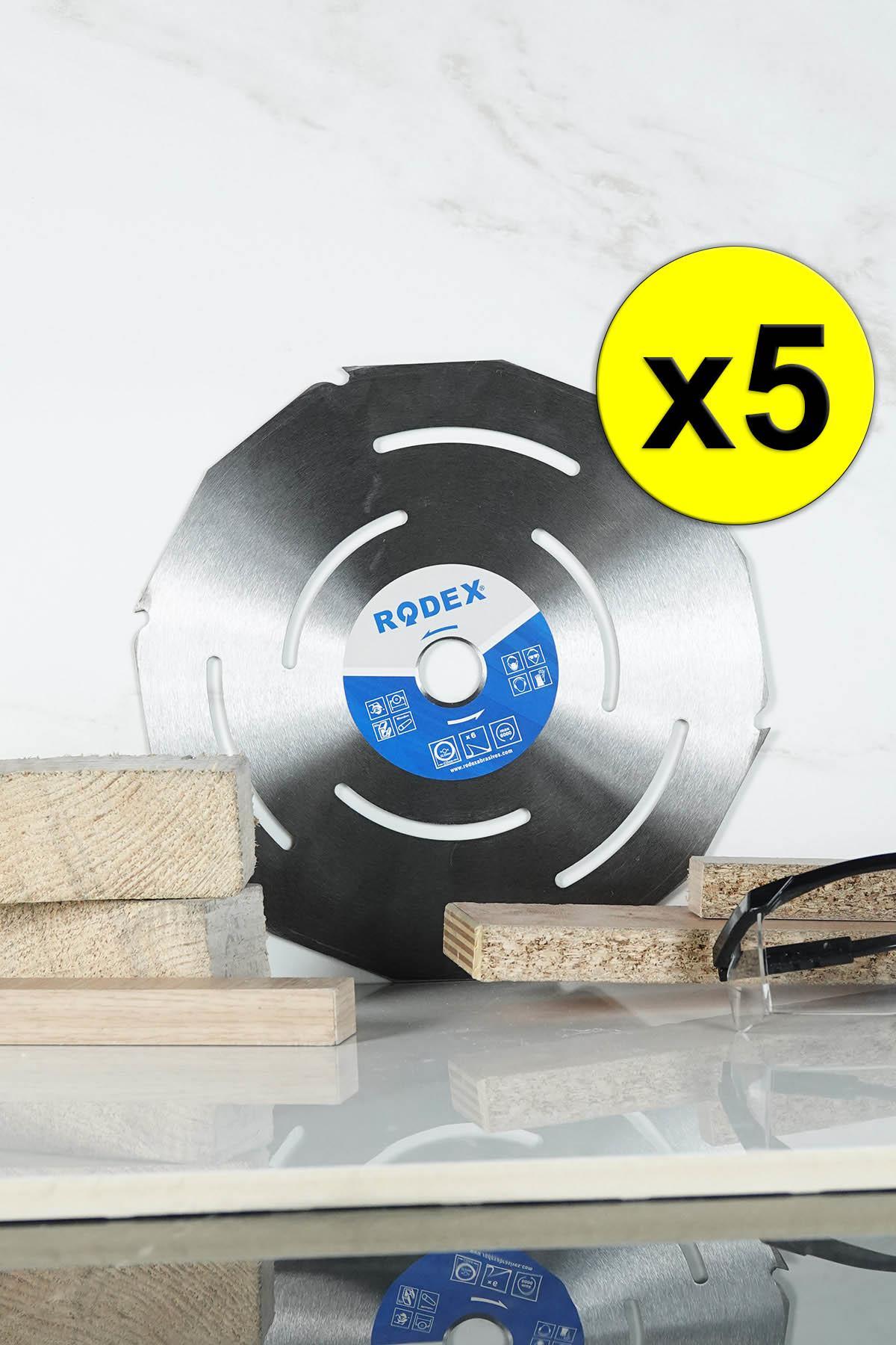 Rodex RRW230 Wood Saw Blade Disc 230mm 5 Pcs