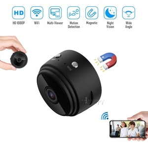 Mini Video Surveillance Camera Home Security WiFi Microcamera Wireless cctv Monitoring Camcorder IP Cam Support Hidden TF Card