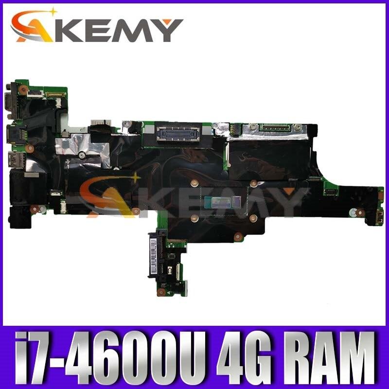 لوحة رئيسية للكمبيوتر المحمول من Akemy لأجهزة Lenovo ThinkPad T440S NM-A052 مع اللوحة الأم i5-4210U T440S اختبار موافق