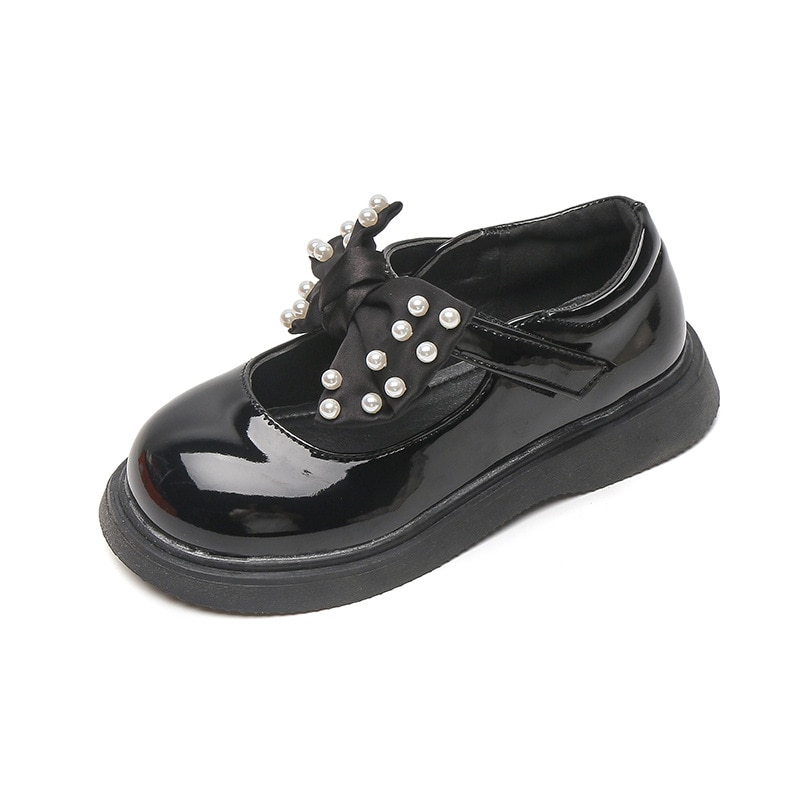 Girls Casual Shoes Spring Autumn Fashion Kids Leather Shoes Baby Princess Shoes Comfortable Bow-knot Childrens New Retro Shoes afdswg pu kids shoes girls fashion soft bottom princess shoes new bow leather shoes childrens shoes little girl shoes