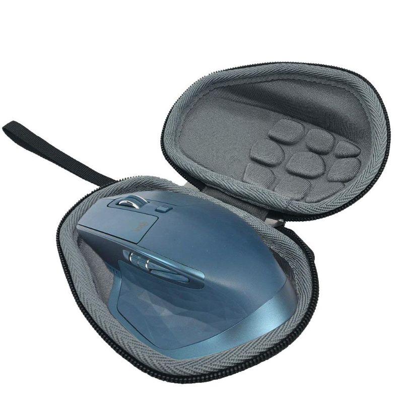 Estuche de almacenamiento duradero portátil de viaje duro para Logitech MX Master/Master 2S bolsa de almacenamiento de ratón inalámbrico