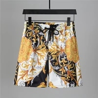 new mens swim trunks quick dry beach shorts with pockets short swiming trunks with mesh lining swimwear bathing suits pants s11