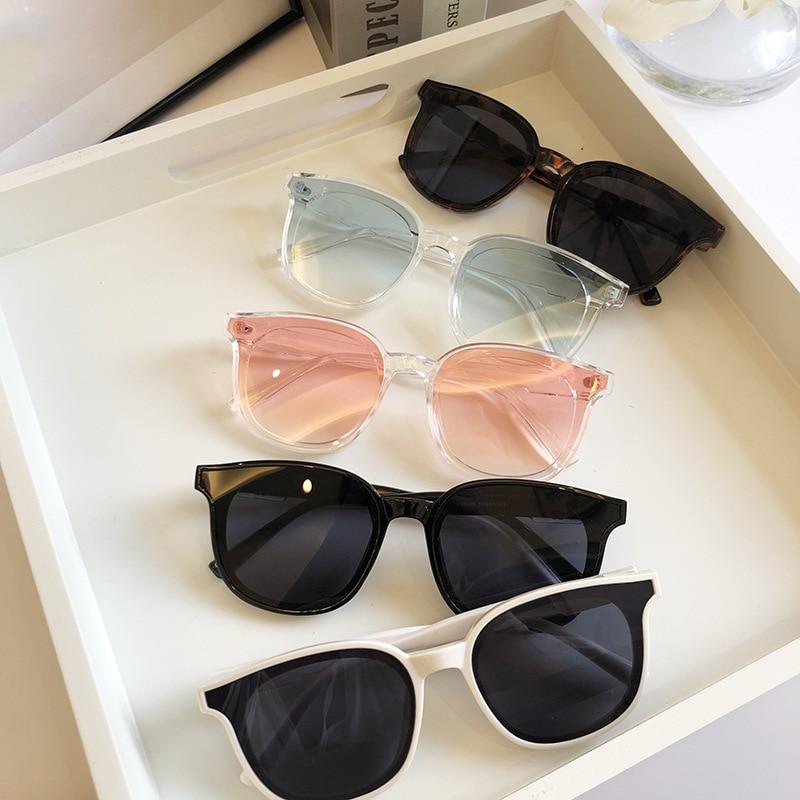 1PCs Men Women Luxury Brand New Designer Oversized Sunglasses Classic Round Square Sun Glasses UV400