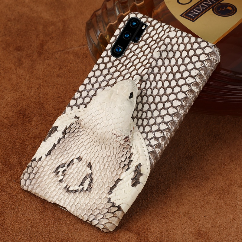 本革 snakeskins 3D ケース huawei 社 P30 lite P20 P40 プロメイト 20 Y6 Y7 1080p スマート 2019 Nova 5t P40 Lite Mate 20 lite P20 Lite P30 Pro 入り江名誉 10 20i 20 プロ 8X
