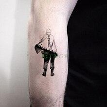 Autocollant de tatouage temporaire imperméable Naruto les sept générations dombres faux tatto autocollants flash tatoo pour hommes femmes enfants