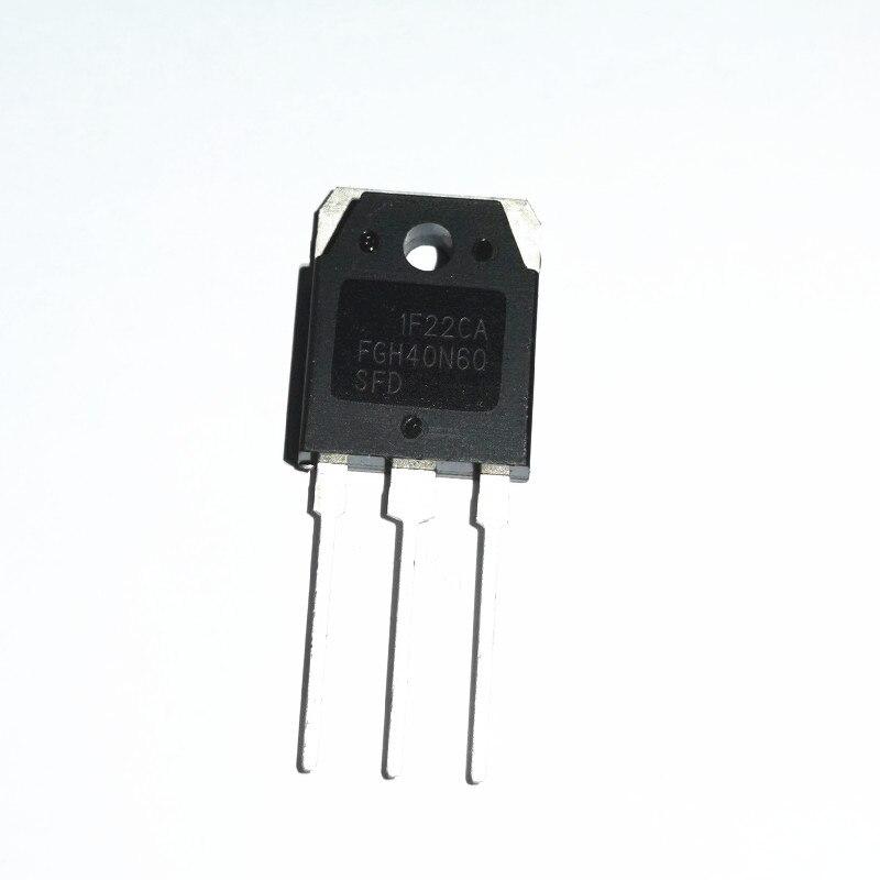 5 unids/lote FGH40N60SFD FGH40N60 40N60 IGBT a-247 original nuevo en Stock