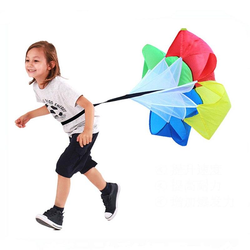 Geschwindigkeit Fallschirm Outdoor Spielzeug Kinder Sport Spiele Für Kinder Sensorischen Spielen Körperliche Ausbildung