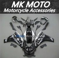 motorcycle fairings kit fit for cbr1000rr 2008 2009 2010 2011 bodywork set high quality injection new black silver seven star