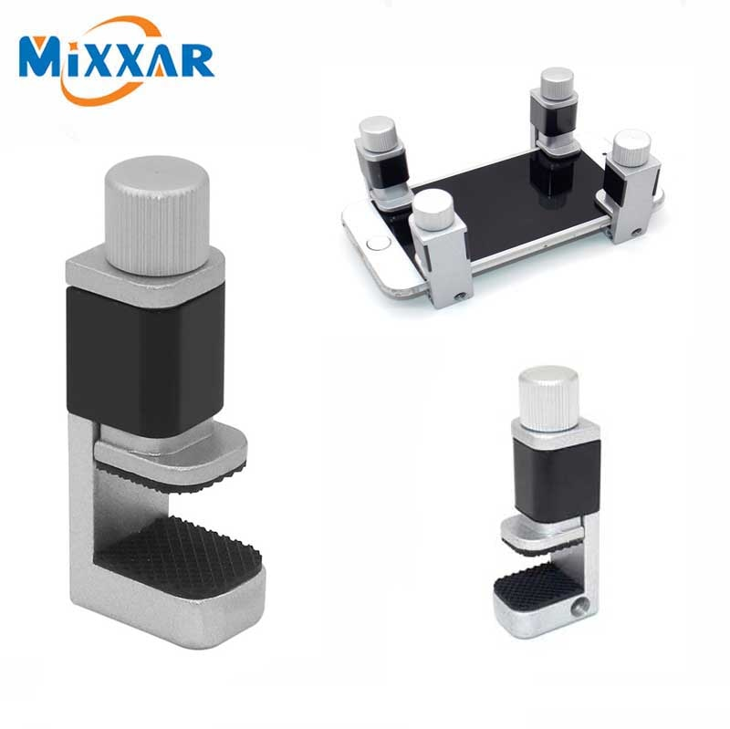 ZK30, 1/2/4/6/Uds., conjunto con rizador de pantalla LCD para teléfono, herramientas de reparación fijas, abrazadera de sujeción de Metal, herramientas ajustables