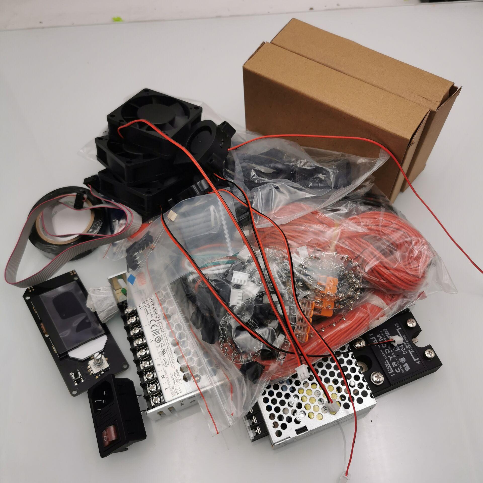 VORON-طابعة ثلاثية الأبعاد SKR1.3 SKR1.4 ، مجموعة أجزاء إلكترونية ، DIY ، Meanwell power TMC2209 ، موصل الاتحاد الأوروبي/الولايات المتحدة ، 2.4