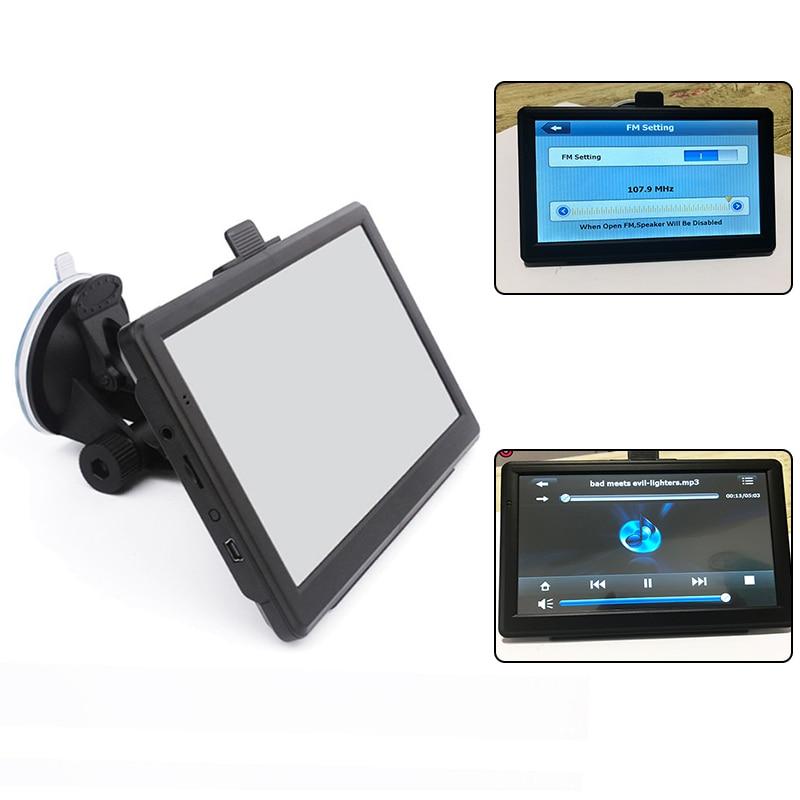 7inch 8GB Navigator Set Car Truck HGV GPS Navigation Maps Car GPS Navigator HD Traffic Alarm Truck Navigation