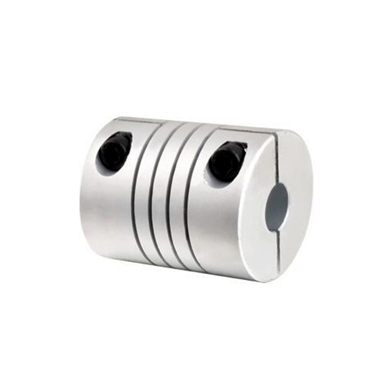 1pcs CNC Motor Jaw Shaft Coupler 5mm To 12mm Flexible Coupling OD 25x30mm 4/ 5/6/6.35/8/9.5/10/12mm rigid coupling od 20x25mm engraving machine motor step servo motor ball screw connecting axle 4 5 6 6 35 7 8
