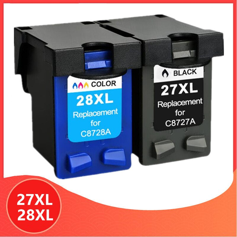 27XL 28XL cartucho hp 27 28 cartucho de tinta para hp 27 hp 28 hp Deskjet serie 3320, 3325, 3420, 3535, 3550, 3650, 3744 impresora