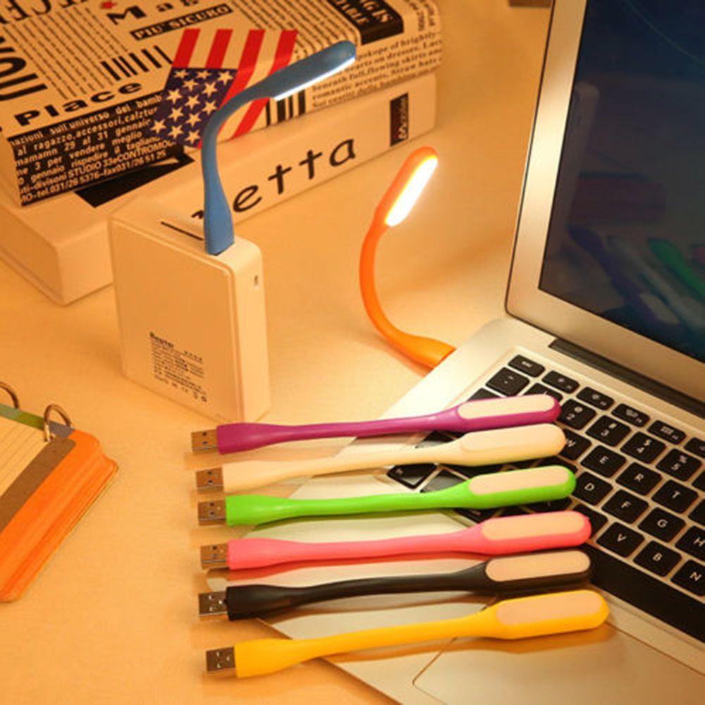 Laptop Bright Notebook Reading Pc Flexible 1pcs Computer Usb Led Light For