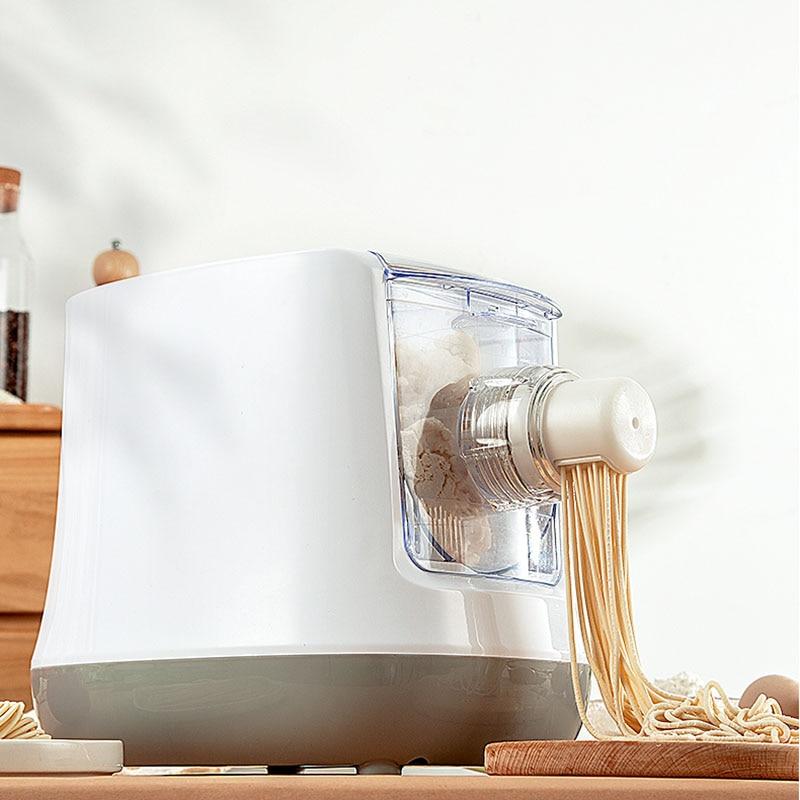Electric Automatic Noodle Press machine Vegetable Grain Noodles Dumpling Maker Pasta Spaghetti Cutter Dough blender with 13 mold