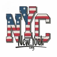 13cm x 12 7cm for new york city usa diy decal motorcycle car stickers 3d waterproof decor suitable for van rv suv