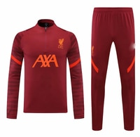 21 22 New LVP liverpooling soccer jerseys M.SALAH ALEXANDER HENDERSON DIOGO J ORIGI adult +kids football tracksuit