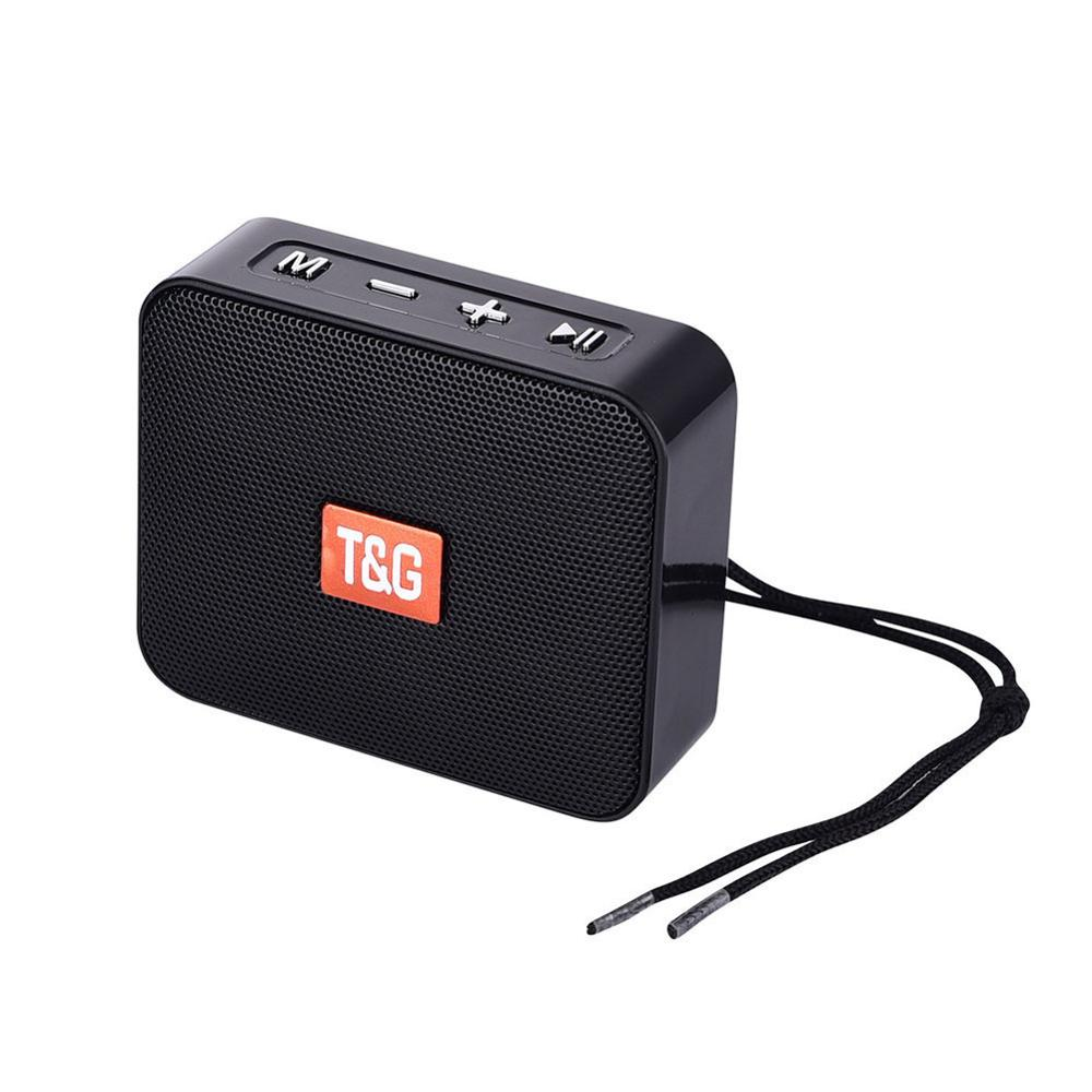 Mini altavoz portátil TG166, altavoz pequeño inalámbrico con Bluetooth, soporte para USB,...
