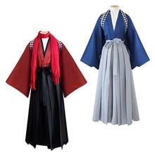 Танцевальное кимоно с мечом в традиционном японском стиле, одежда в азиатском стиле, платье для ролевых игр, маскарадный костюм Haori для женщин и мужчин
