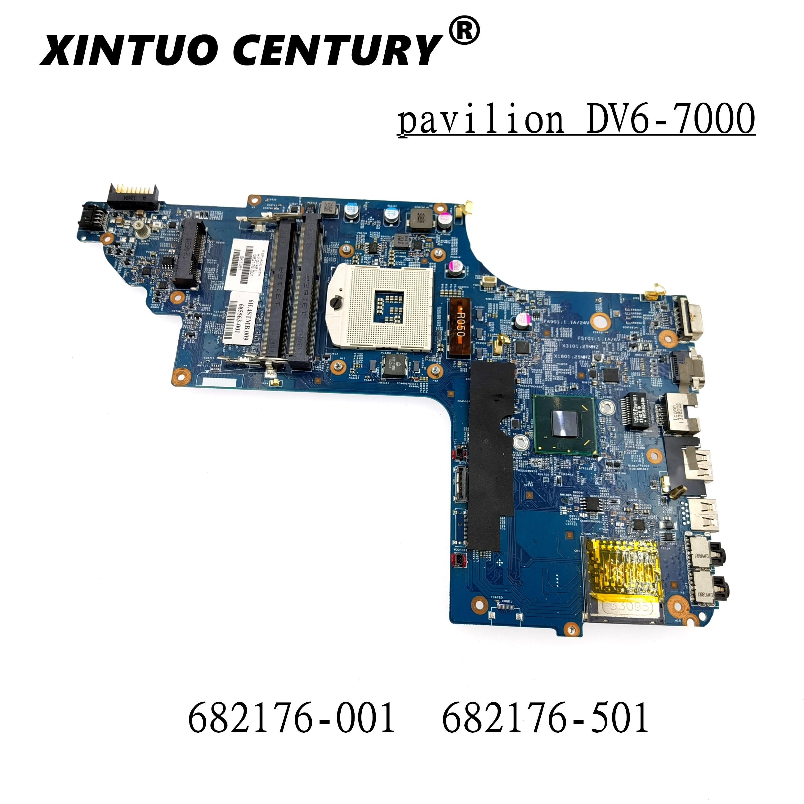 682176-501, 682176-001 placa madre para HP pavilion DV6 DV6-7000 placa base 48.4ST04!...