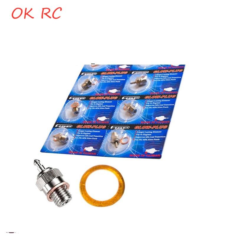 Hsp 70117 n3 n4 quente vela de brilho faísca para vertex nitro peças motor 1/10 1/8 rc buggy monster truck substituir os 8