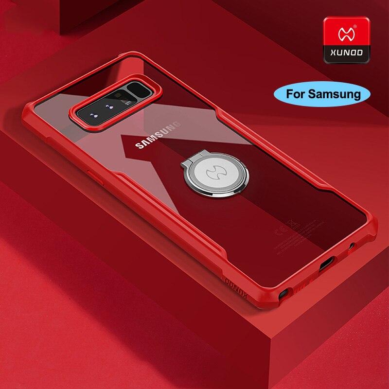 XUNDD Luxus Silikon Shell Fall Für Samsung Galaxy S10 S8 S9 Plus Hinweis 8 9 Telefon Stoßfest 360 Volle Protector zurück Abdeckung Fällen