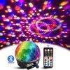 Lumières de DJ Bluetooth RGB LED commande vocale MP3 Disco Ball Party effet de scène lumière stroboscopique Laser pour noël