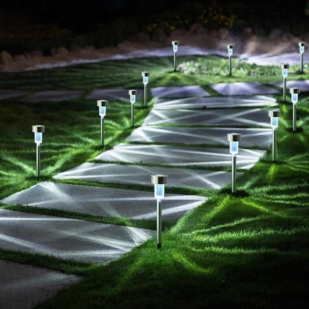 Lámpara Solar LED para césped y jardín, lámpara Solar colorida para exteriores,...