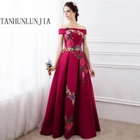 evening dresses 2021 a line boat neck cap sleeves appliques lace women long evening gown prom dress prom gown robe de soiree
