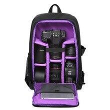 Waterdichte DSLR Rugzak DSLR Photo Bag Multi-functionele Outdoor Camera Tas Rugzak Case voor Nikon Canon Sony DSLR Tas lens grote