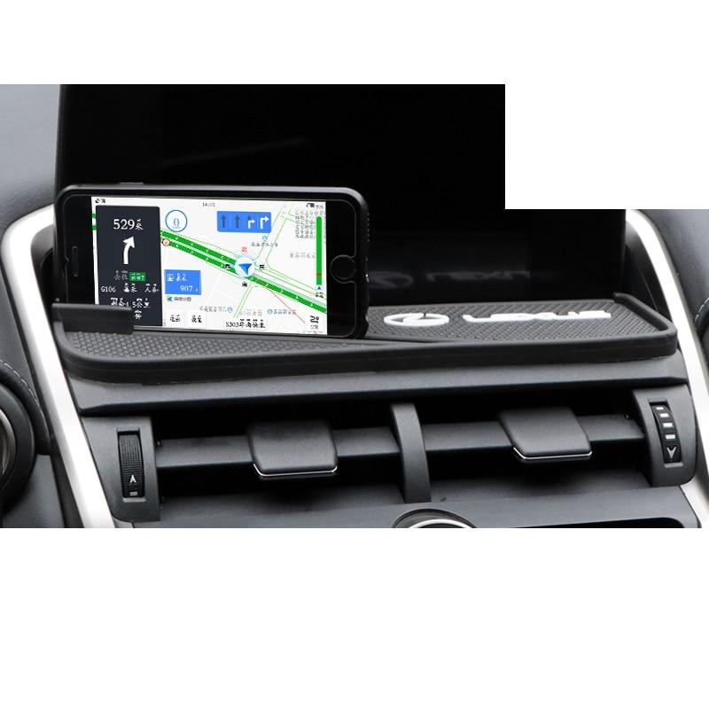 Lsrtw2017 del tablero de instrumentos del coche estera antideslizante para Lexus NX NX200 NX300 NX300h 2015, 2016, 2017, 2018, 2019, 2020 Interior Accesorios