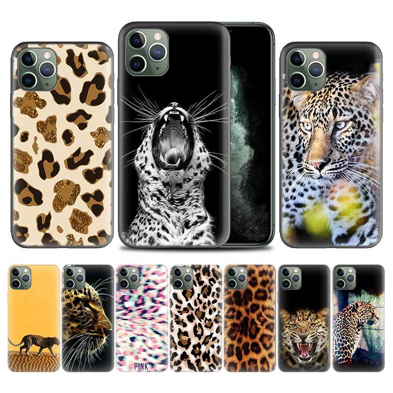 Чехол Cheetah leopard Jaguar Panther для Apple iphone 11 Pro XS Max XR X 7 8 6 6S Plus 5 5S SE 5C Мягкий ТПУ чехол для телефона
