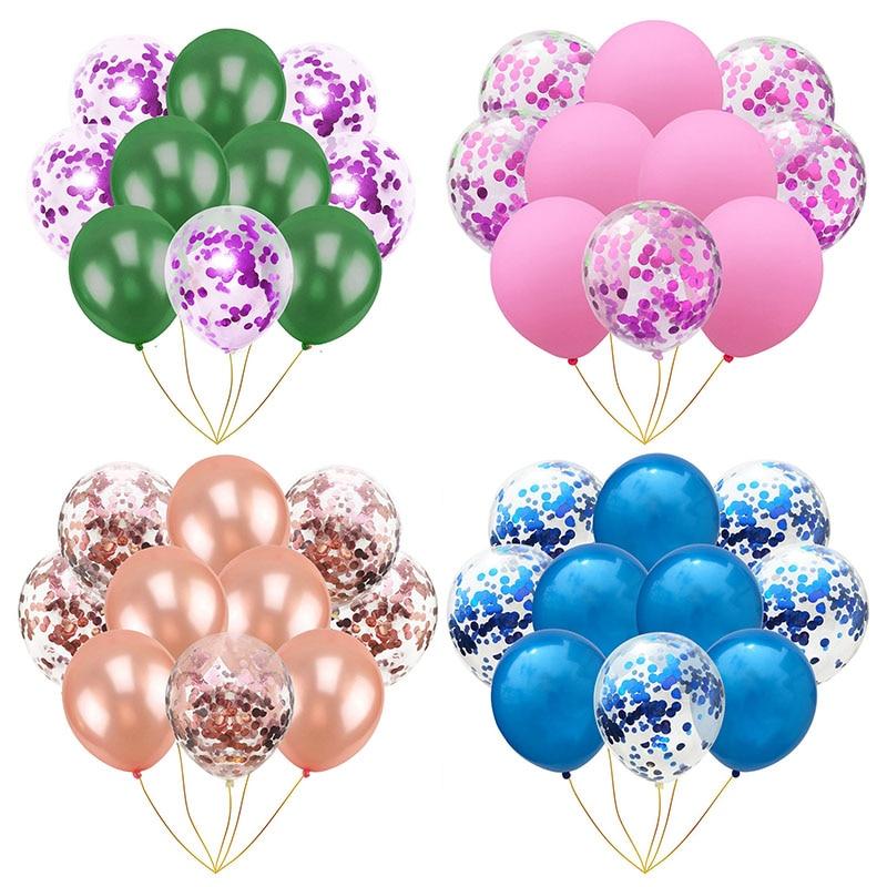 Holiday Parties Latex Balloons Without Ribbon Confetti Balloon Kid Birthday Supplies Wedding Decor 1