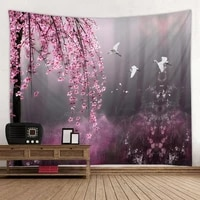 wasteland beauty printing tapestry scene decoration cloth factory direct sales can be customized size
