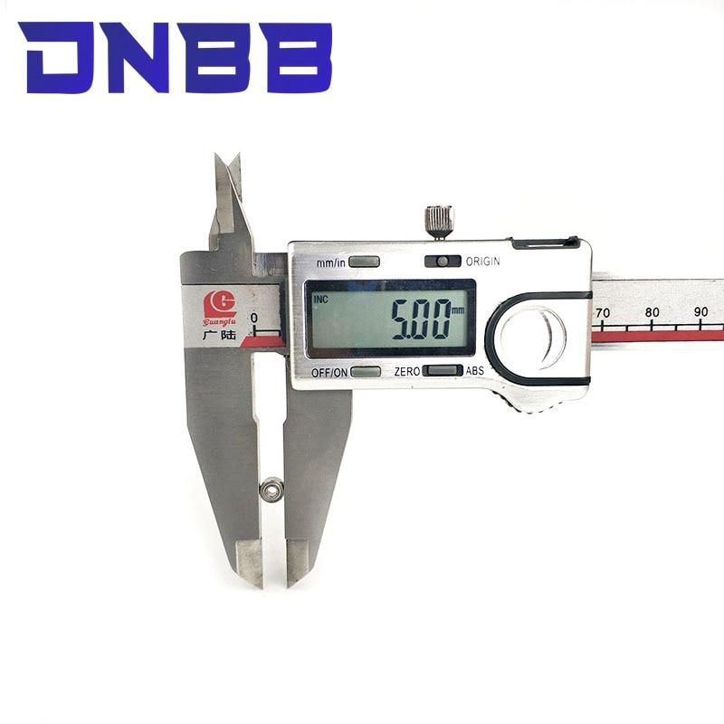 Dnbb Lagers 10Pcs MR52ZZ MR52Z MR52 Z MR52 Zz MR52 Miniatuur Kogellager 2x5x2.5mm