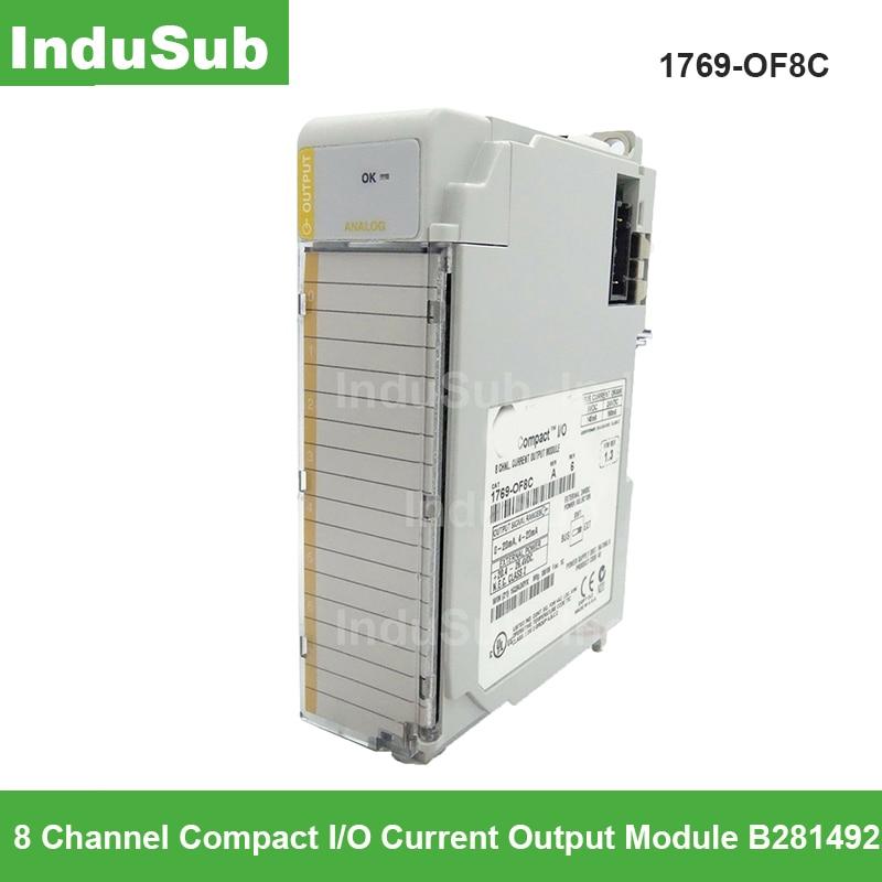 original novo 1769 of8c compactlogix 8 pt a o modulo atual 1769 of8c 1769of8c plc