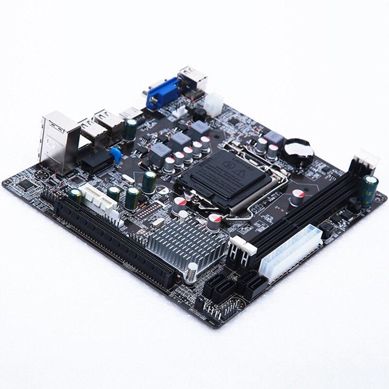Placa madre práctica Lga 1155 estable para Intel H61 Socket Ddr3 memoria Accesorios de ordenador Placa de Control