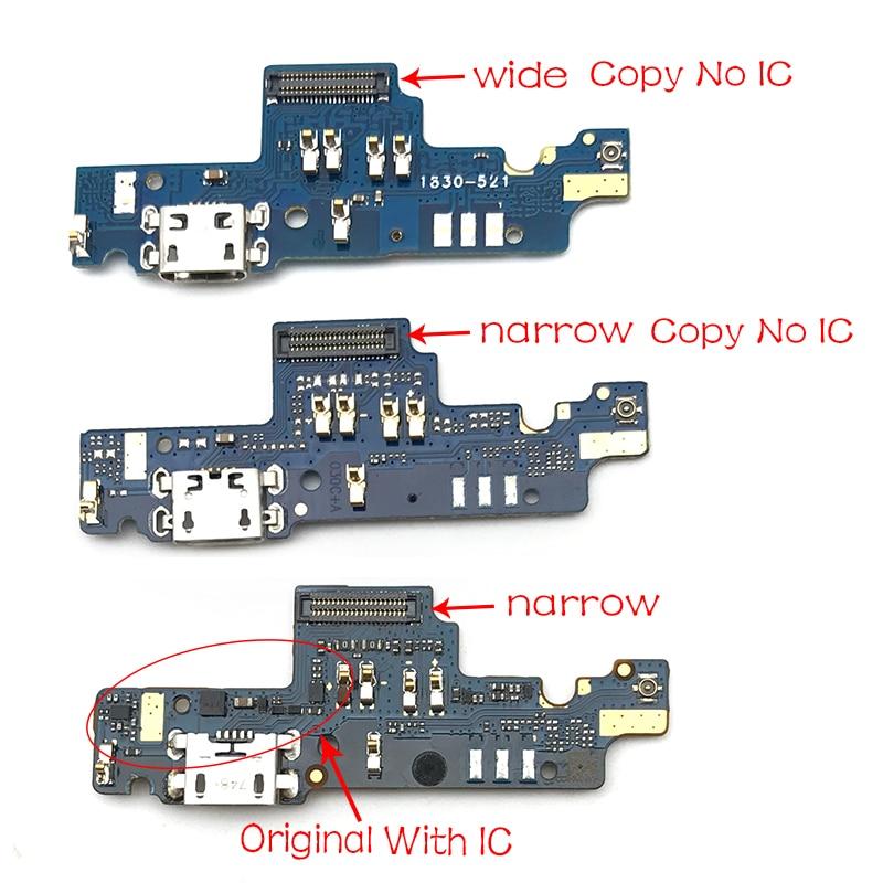 Original nuevo puerto de conector de carga Cable Flex para Xiaomi Redmi Note 4X Note4x USB puerto de carga de piezas de reparación de 3GB 32GB