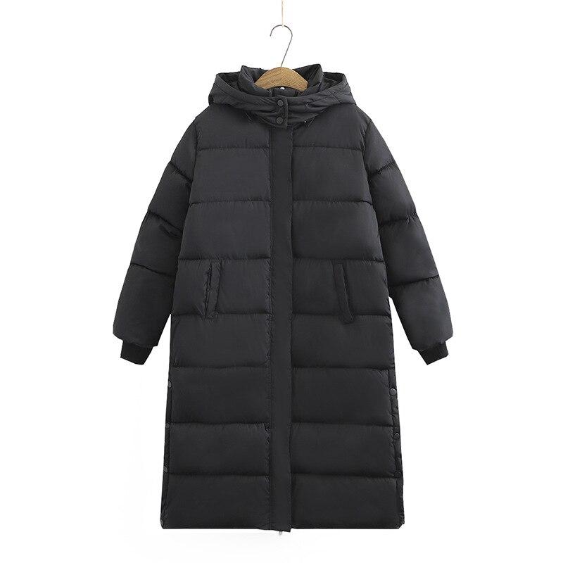 معطف نسائي شتوي عالي الجودة, سترة شتوية نسائية دافئة سميكة مع طاقية رأس