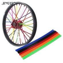 36pcs Moto Wheel Rims Spoke Tube Tire tyre Scooter Bike Electric Motorcycle For couvre rayon jante moto crf450x dualtron yz 125
