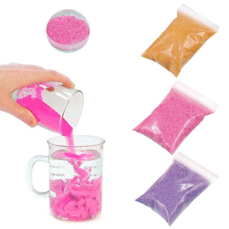 50g no mojado arena mágica niños DIY juguetes hechos a mano no tóxico espacio arena juguete educativo para niños regalos C63C