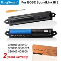 KingSener 359498 battery For Bose SoundLink III 330107A 359495 330105 For Bose soundlink Bluetooth Mobile Speaker II 404600