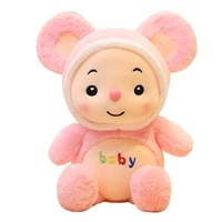 dropshipping epacket shopify service 1 pc cute plush mouse toy stuffed animal doll baby kids children birthday christmas gift