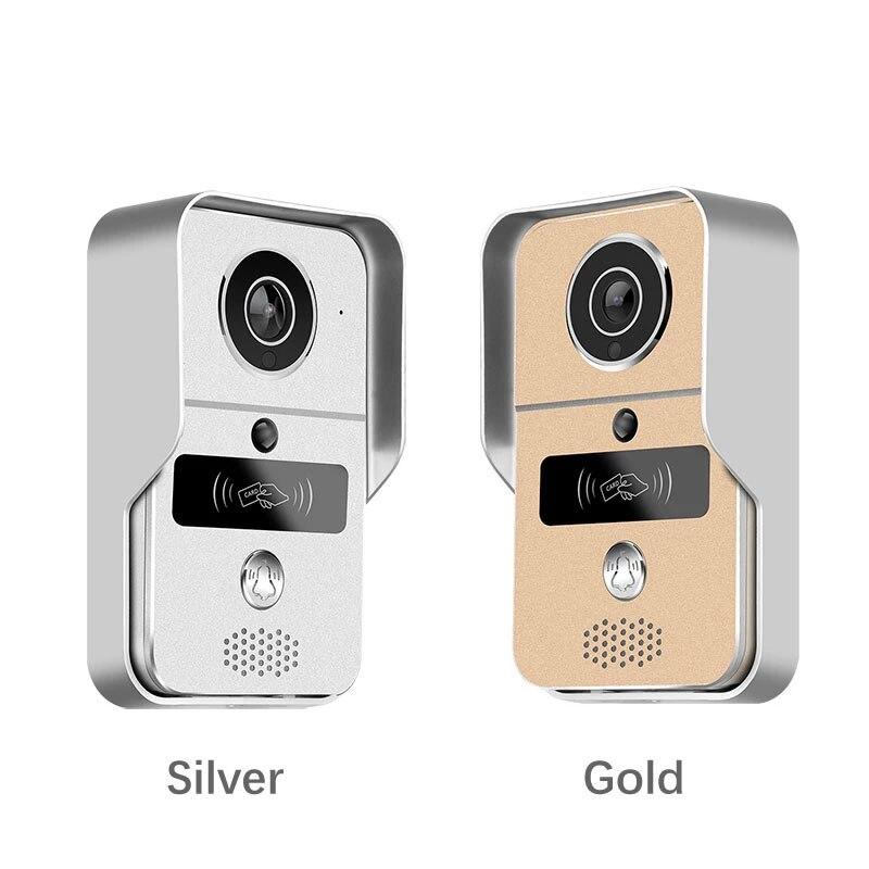 Smart IP Doorbell HD 1080P Wireless Wifi IP Villa Video Door Phone Intercom Doorbell Viewer Entry System for Home Security enlarge