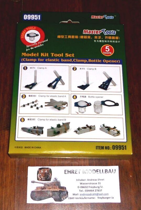 Trompetista modelo 09951 Kit de herramientas elástico Clip abrazadera abridor para DIY para tanque barco TH07657