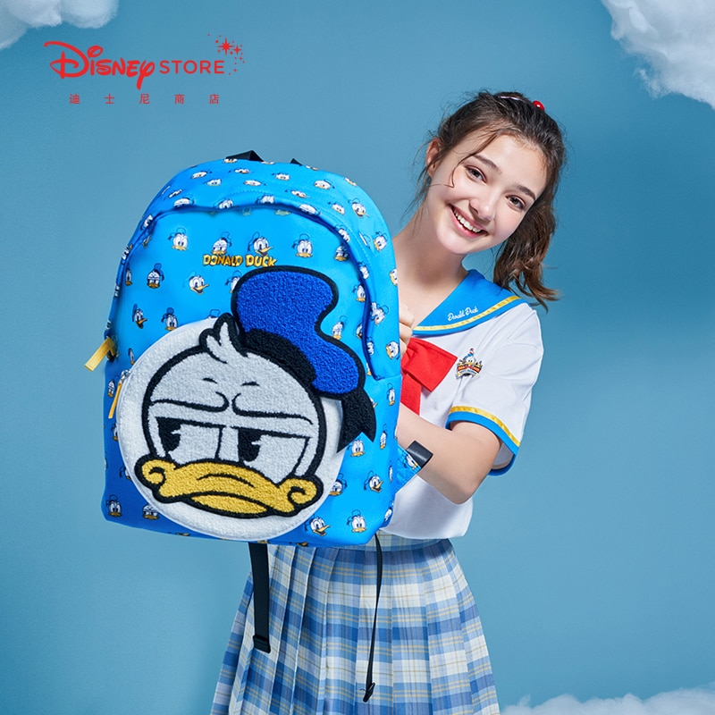 Authentic Disney Official Donald Duck Birthday Series Backpack Cute Cute Cool Backpack New Product