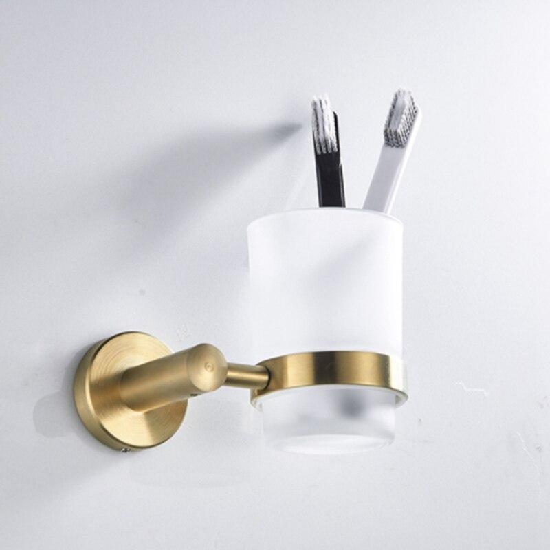 صندوق صابون ذهبي ناعم ، ملحقات الحمام ، خطاف الحمام ، حلقة منشفة ، حامل فرشاة الحمام ، حامل الأكواب