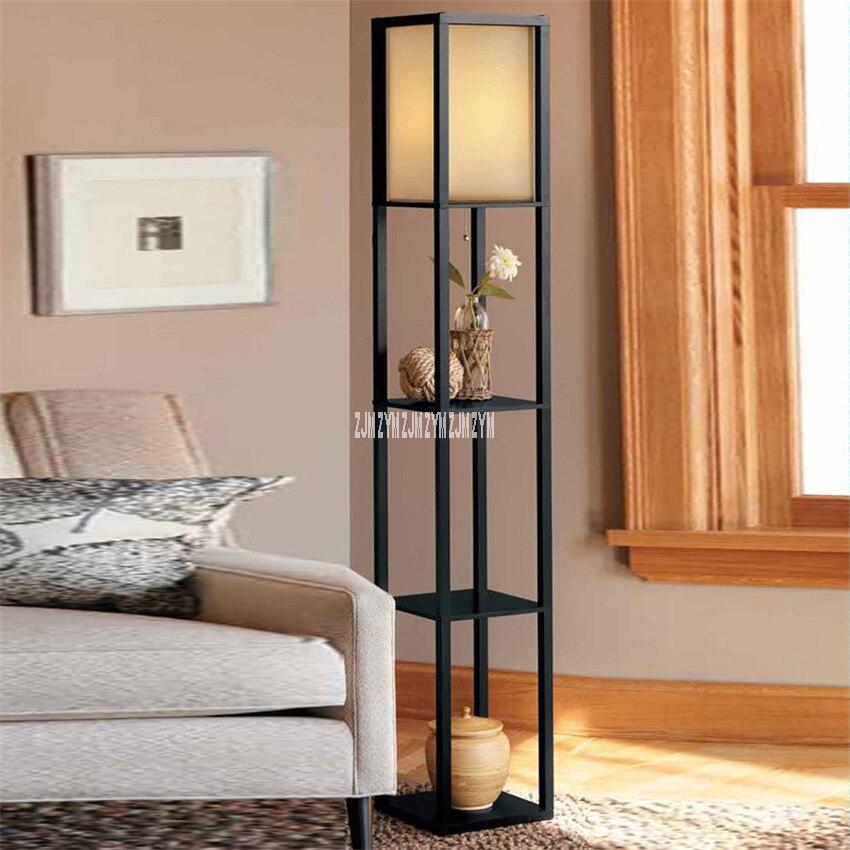 JLKY255 китайский стиль доска для чая настольная лампа для гостиной деревянная полка напольная лампа современная простая спальня Полка Подста...