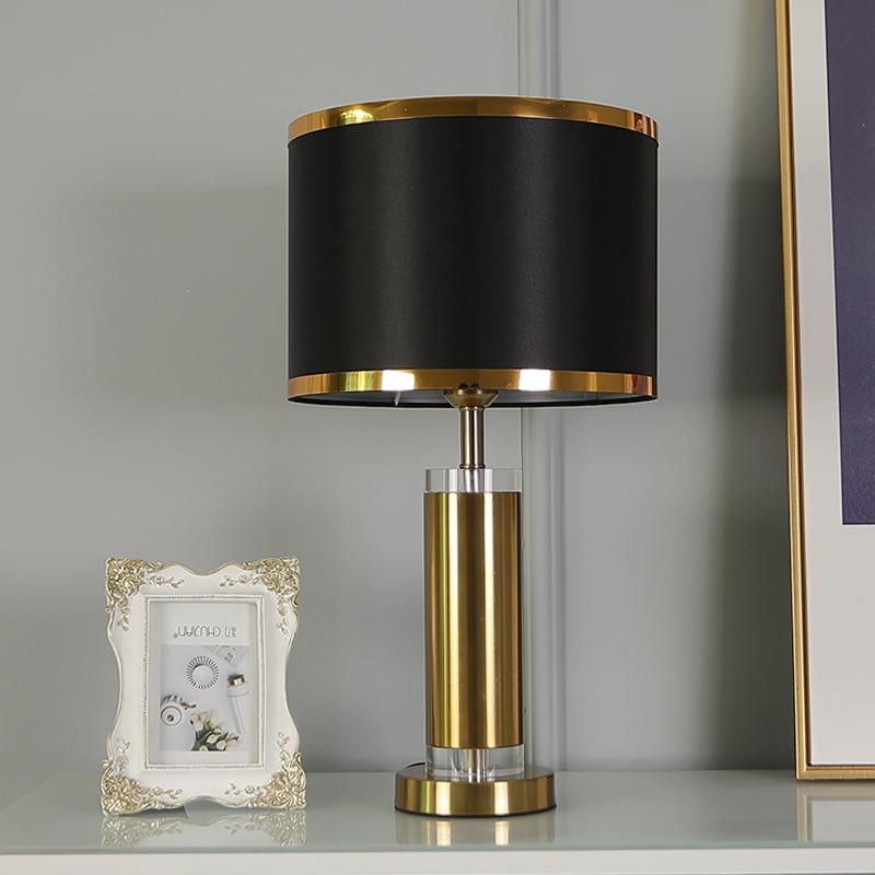 Modern Table Lamps Nordic Luxury Creative Led Reading Lights For Living Room Decoration Desk Lamp Bedroom Bedside Light Fixtures