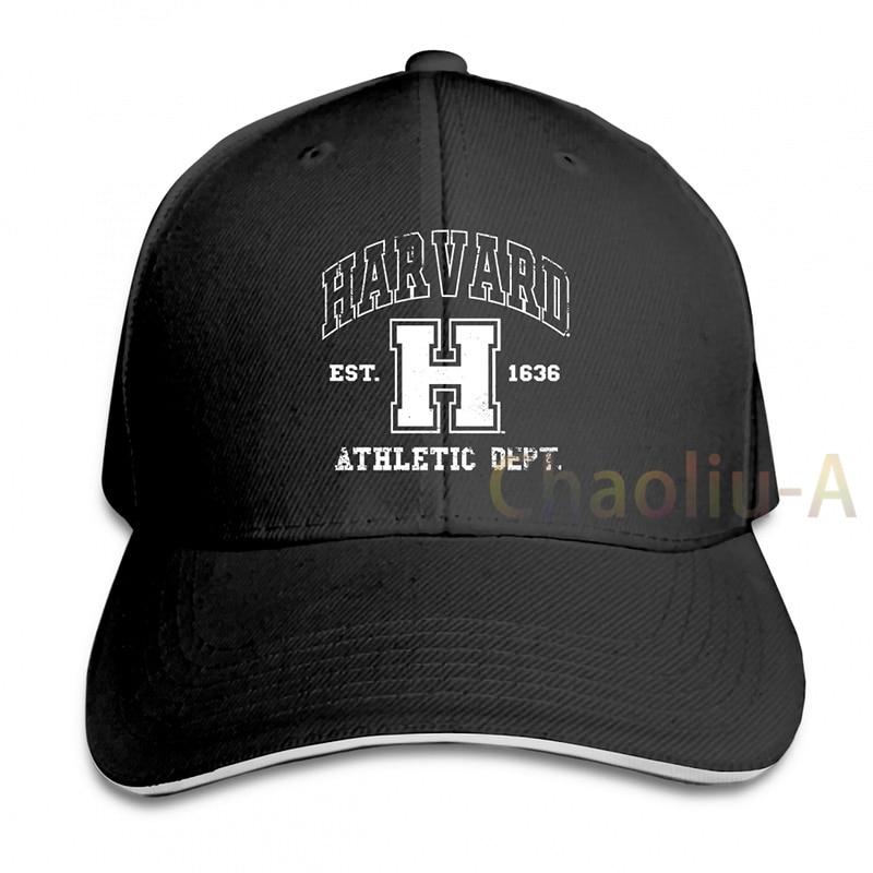 HARVARD ATHLETIC DEPARTMENT COLLEGE LOGO HEATHER RED  REGULAR FIT Baseball cap men women Trucker Hats fashion adjustable cap